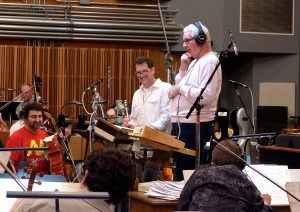 Michael Giacchino and orchestrator, Tim Simonec