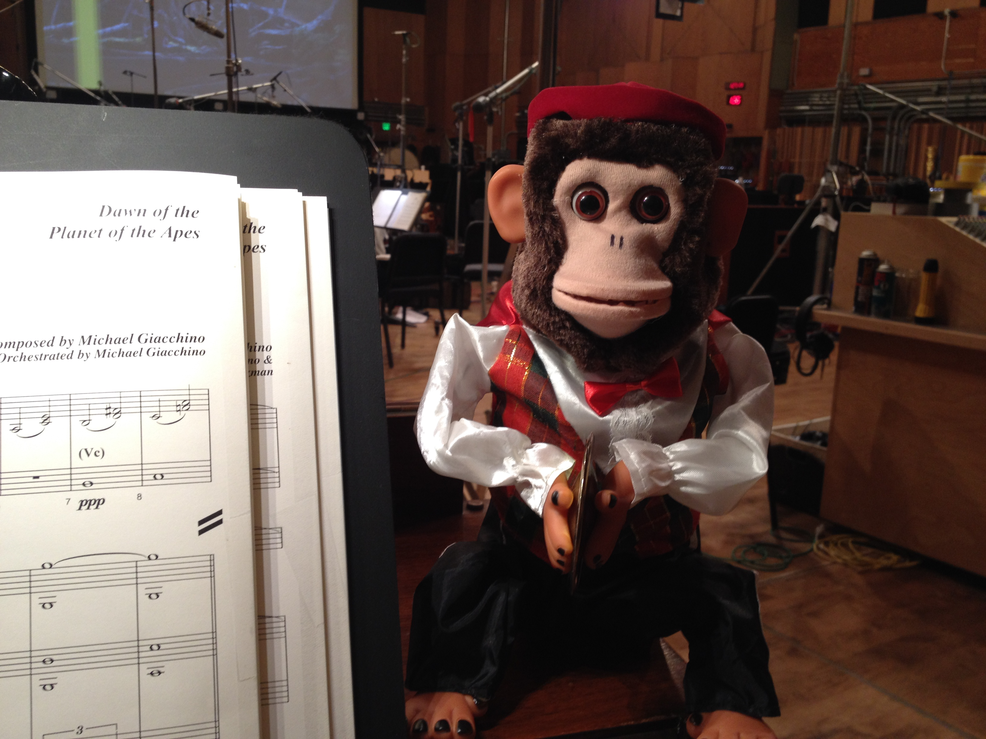 My Monkey for the Organ!